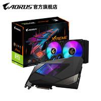 AORUS 技嘉 GeForce RTX 3080 一体式水冷 显卡 10G