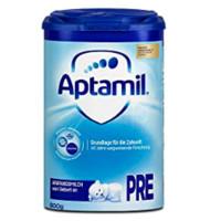 Aptamil 爱他美 HMO较大婴儿配方奶粉 易乐罐 Pre段 800g(0-6个月)德国版