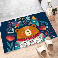 恰洋 卡通地毯 小胖熊 40*60cm可裁剪