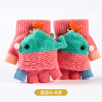 xomojing 小魔鲸 儿童秋冬手套