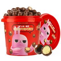 京东PLUS会员:Enon 怡浓 夹心牛奶巧克力 520g *4件