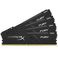 Kingston 金士顿 Fury雷电系列 DDR4 2666 128G(32G X4)套装 台式机内存条