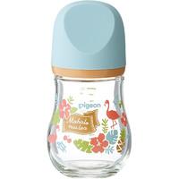 Pigeon 贝亲 臻宝系列 00428CH 婴儿宽口径玻璃奶瓶 夏威夷 160ml 奶嘴(SS号)