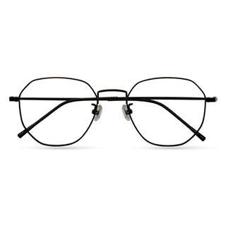 潮库 1899纯钛近视眼镜框+1.56防蓝光镜片