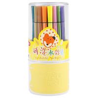 M&G 晨光 ACPN0278 小狐希里系列 36色可水洗六角杆水彩笔 *6件