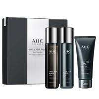 AHC 男士烟酰胺护肤套盒 3件套 (洗面奶140ml+爽肤水120ml+乳液120ml)