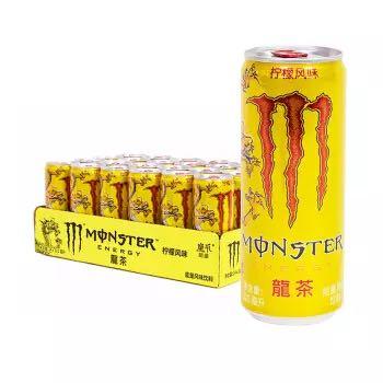 限地区 : Coca-Cola 可口可乐 魔爪龍茶 柠檬风味能量饮料 330ml*24罐