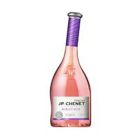 法国原瓶进口 香奈 经典系列美乐半干型桃红葡萄酒750ML单支 *2件