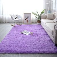 移动专享: SIBAOLU 斯宝路 ins北欧风长毛绒地毯  40*60cm