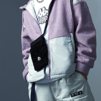 Kappa 卡帕 K0AZ8BX61 男女款泰迪绒斜挎包