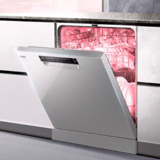 Haier 海尔 EYW13028CSDU1 全自动嵌入式洗碗机 13套 香槟银