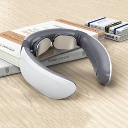 爱福克斯 颈椎 颈部按摩仪 肩颈按摩器 办公室护颈 热敷U型枕  充电便携 便捷按摩仪-电池款