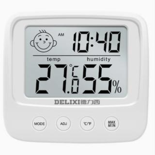 DELIXI 德力西 室内干湿两用电子温度计(基础款)