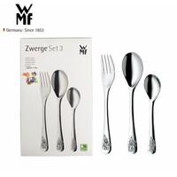 WMF德国福腾宝 儿童餐具套装儿童刀叉勺套装不锈钢餐具套装 Zwerge3件套