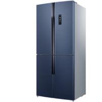 MELING 美菱 黛蓝灰系列 BCD-503WPU9CA 对开多门冰箱 503L 亚黑横钢纹
