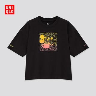优衣库 女装/男装(UT) DPJMickey x Keith印花T恤(短袖T恤)432976