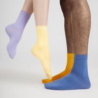 DAPU 大朴 AE4W02102 中邦棉袜 5双装