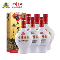 古井贡酒 六角贡 45度浓香型白酒 500ml*6瓶