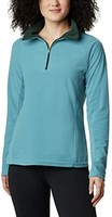 Columbia 哥伦比亚 Glacial Iv 女士羊毛1/2 拉链衫