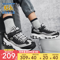 Skechers斯凯奇童鞋 秋冬新款男女同款儿童运动鞋664094L +凑单品