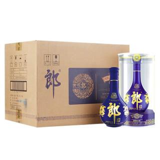 LANGJIU 郎酒 青花郎 酱香型白酒 53度  500ml*6 整箱装
