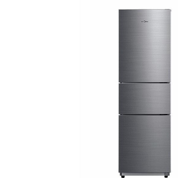 Midea 美的 BCD-219TM 三门冰箱 219L 银色