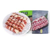 苏鲜生 原切日式肥牛卷400g 欧洲草饲 原切牛肉卷 火锅食材 烤肉片