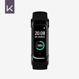 Keep 运动智能手环B2 动态彩屏 智能运动监测防水 USB即插即充心率监测 黑色