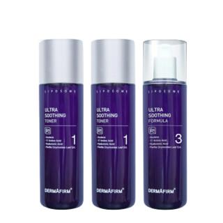 DERMAFIRM 德妃 紫苏系列紫苏舒缓水乳套装 3件套(水200ml*2+乳液200ml)