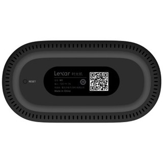Lexar 雷克沙 时光机M1 个人云存储 NAS (LNWMB1N-RNBNC、1GB、无硬盘)