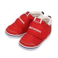 MIKI HOUSE 宝宝一二段学步鞋
