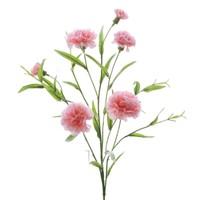 文苑花卉 仿真康乃馨 肉粉色 1枝