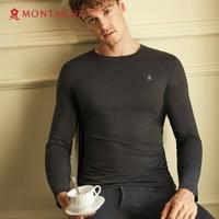 Montagut 梦特娇 BN0916010D113001 情侣款德绒自发热保暖内衣
