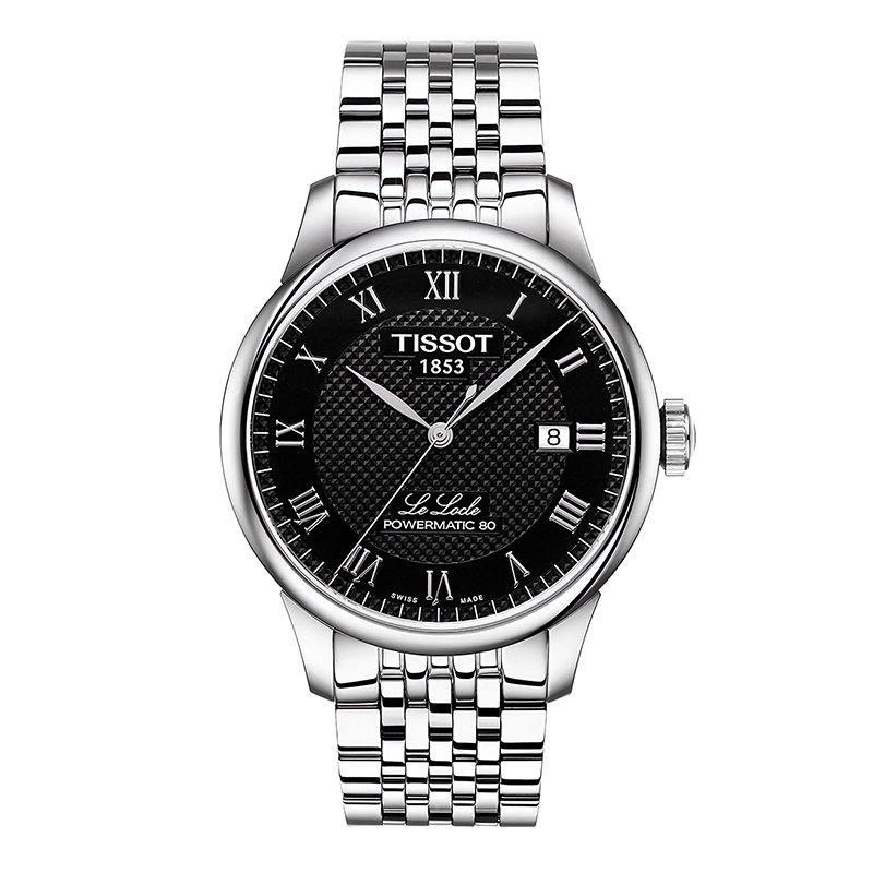 考拉黑卡 : TISSOT 天梭 力洛克系列 T006.407.11.053.00 男士机械手表