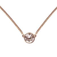 超值黑五:Givenchy 纪梵希 60287913-9DH 单颗圆形仿水晶项链