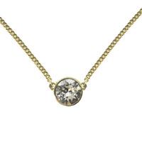 超值黑五:Givenchy 纪梵希 60287915-887 单颗圆形仿水晶项链