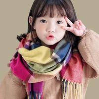 猫猫哒 儿童秋冬韩版仿羊绒围脖