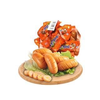 双汇火腿肠玉米热狗肠网兜400g/袋休闲零食小吃泡面拍档肉食精选