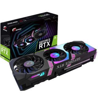 PLUS会员 : COLORFUL 七彩虹 RTX 3080 电脑显卡 10GB