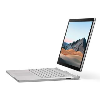 Microsoft 微软 Surface Book 3 13.5英寸超轻薄二合一平板电脑设计师笔记本 i7 32 512G固态硬盘 银色