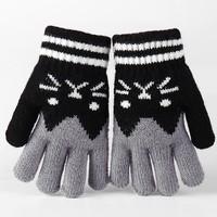 唛依格 儿童秋冬手套