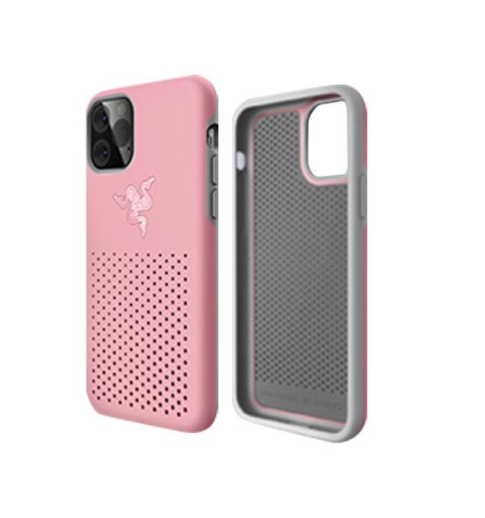 RAZER 雷蛇 冰铠 THS 专业版 iPhone 11手机壳 软壳 粉晶