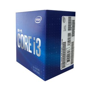 intel 英特尔 酷睿i3-10100 CPU处理器 3.6GHz