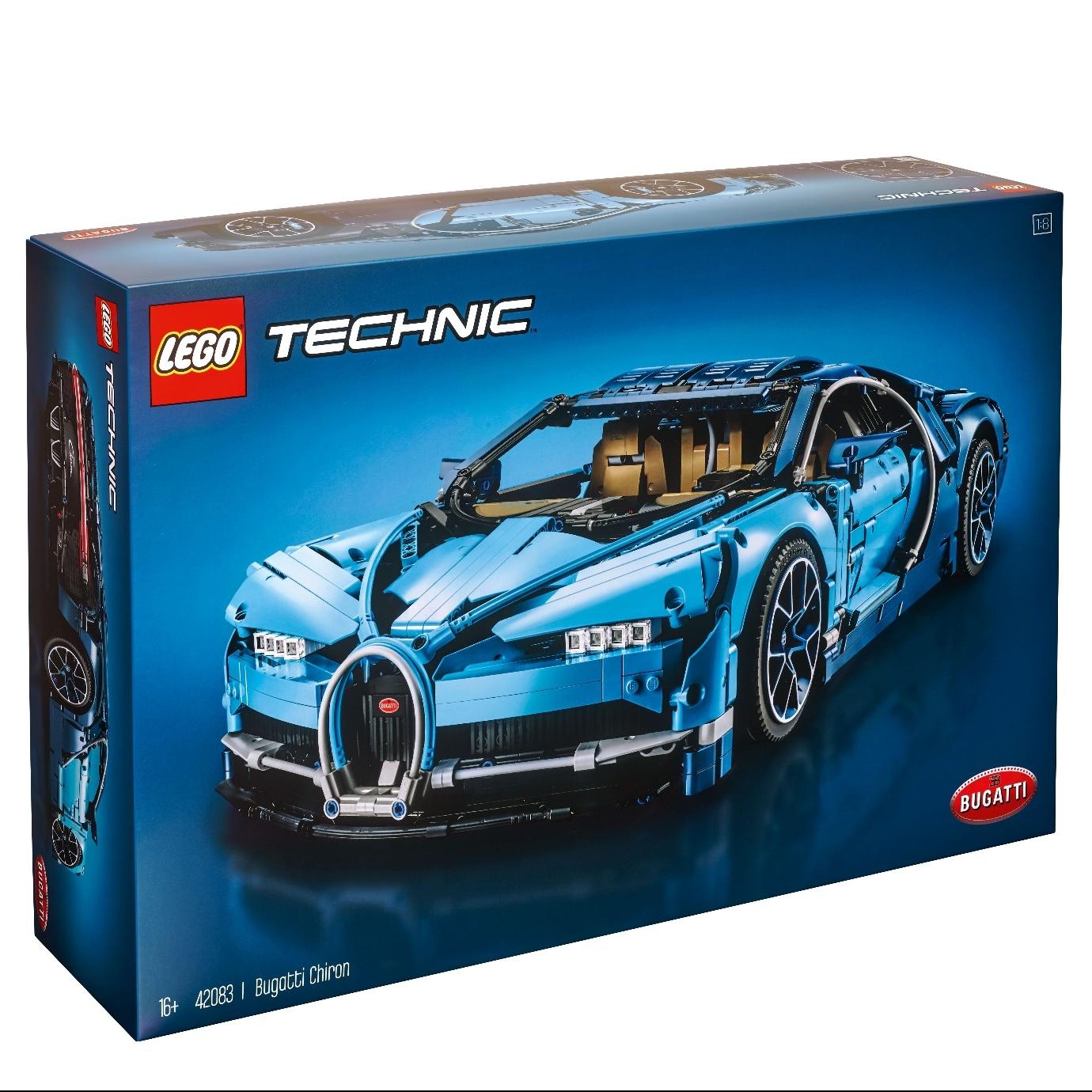 百亿补贴 : LEGO 乐高 2018 Technic 科技系列 超旗舰 42083 布加迪奇龙
