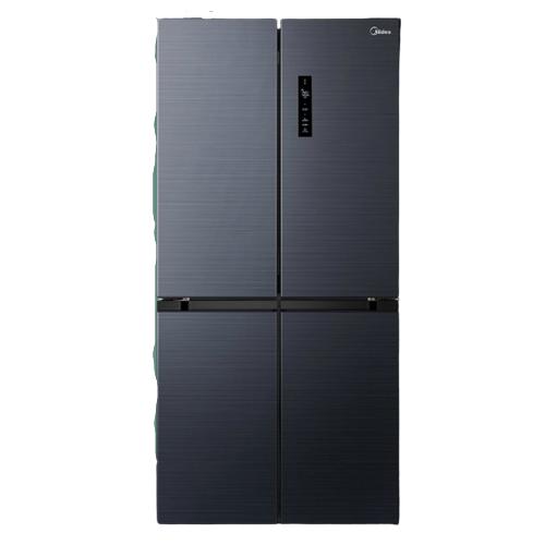 Midea 美的 美的(Midea)478升十字双开门对开四门风冷无霜电冰箱19分钟急速净味除菌一级双变频智能家电BCD-478WSPZM(E)