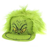超值黑五:Dr. Seuss 帽子 Grinch 毛发服装平舌帽