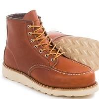 RED WING 红翼 Heritage  Moc Toe 875 男士工装靴