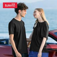 班尼路(Baleno)T恤男 情侣款 88902284 00A M *8件
