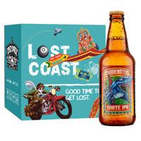 LOST COAST  迷失海岸 机械大鲨鱼小麦IPA啤酒 355ml*6瓶 *2件