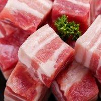 限地区、国产非进口:LONG DA 龙大肉食 免切带皮五花肉 500g*4份+猪后腿肉 500g*4份(低至16.34元/斤) +凑单品